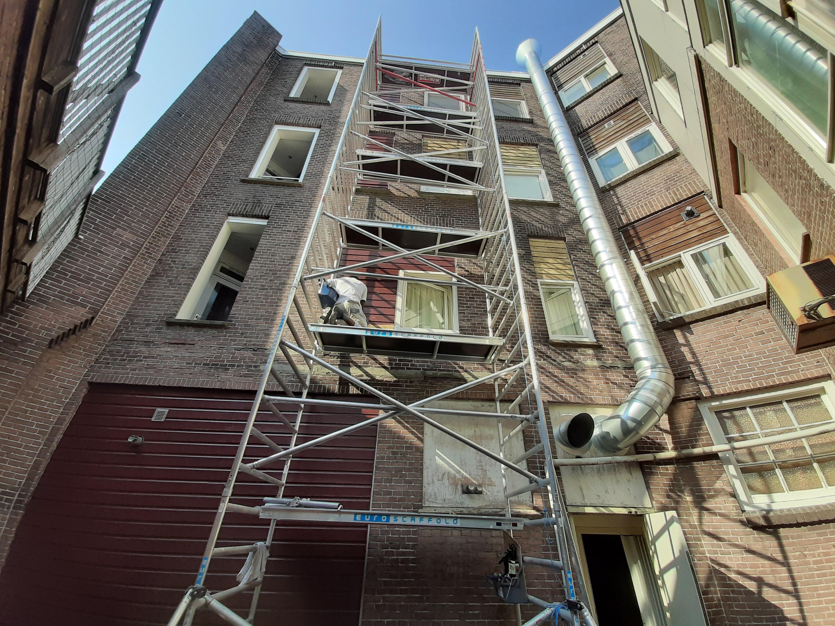 Schilderwerk Achterstraat Alkmaar centrum